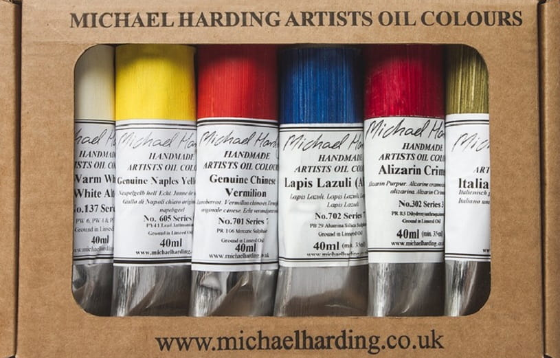 Michael Hardings oil paints.