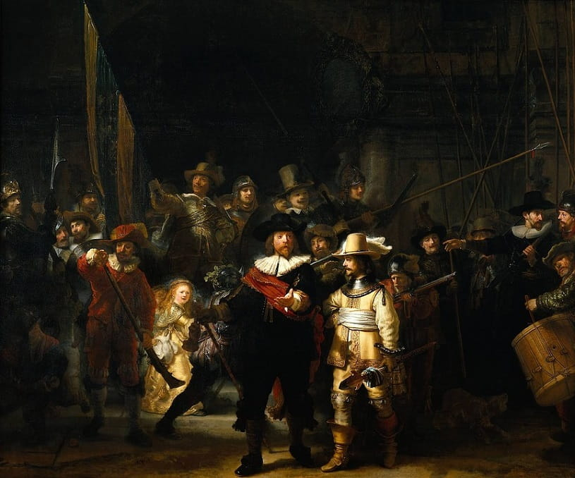 Night Watch by Rembrandt.