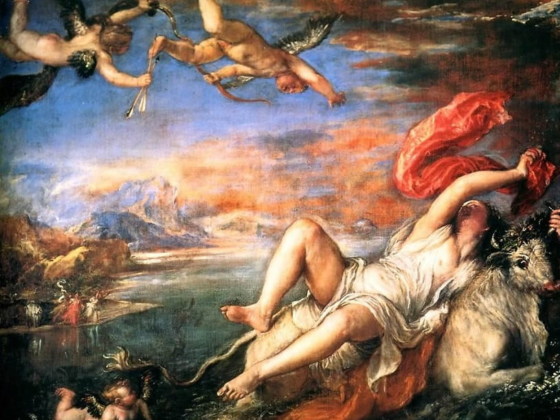 Rape of Europa by Titian