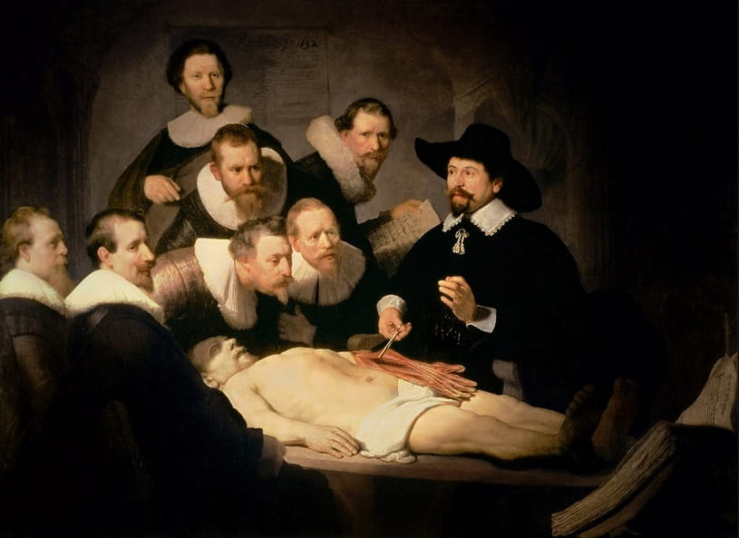 The Anatomy Lesson of Dr. Nicolaes Tulp.