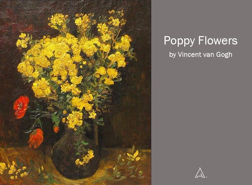 Poppy flowers by van Gogh.