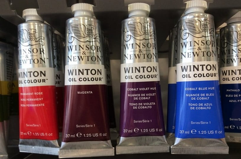 Winton oil paints.